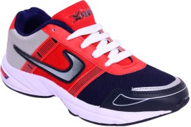 Xpert Online1 Black Red Running Shoes