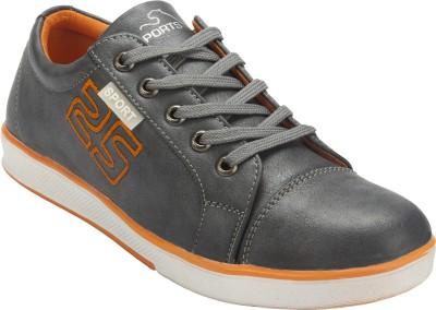 Hansfootnfit Hms109greyorange Canvas Shoes