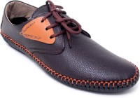 Lee-O Fashions Lee-O Fashions Brown Casual Shoes Lace Up Shoes