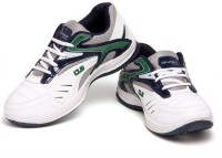 Columbus Premium Quality Running Shoes, Cricket Shoes, Training & Gym Shoes Green, Blue, White