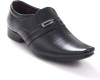 Shoe Centre Black Formals Slip On Shoes