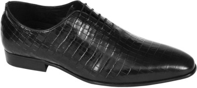 Pinellii Castor Lace up Black (Italian Hand Crafted) Lace Up