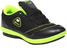 Xpert 3d101 Blk Grn Running Shoes