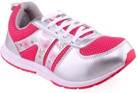 Xpert Liza 3 White Pink Running Shoes