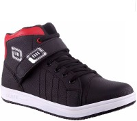Allen Cate Red Black Sneakers Shoes Sneakers Red, Black