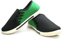RCI Green And Black Mens Canvas Shoes