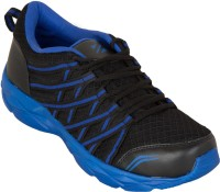 Zovi Black And Blue Running Shoes