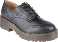 Truffle Collection Het1 Black Casual Shoes