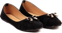 Ten Ten Fabulous Black Ballerinas Closed Toe Belly