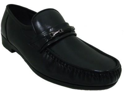 Senso Vegetarian Mens Comfort Black Slip On Shoes