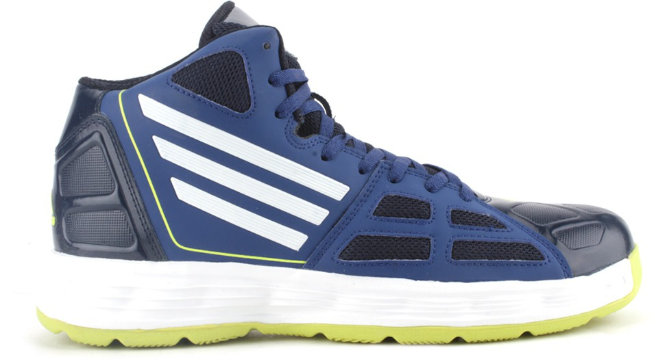 adidas bully navy blue basketball shoes