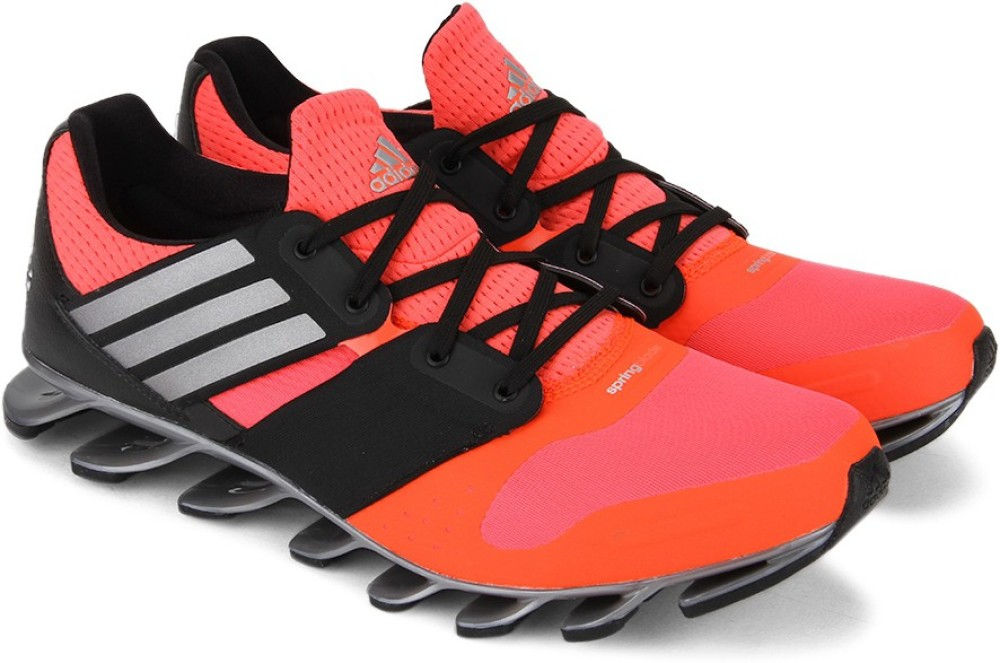 Adidas SPRINGBLADE SOLYCE Men Running Shoes Black Pink