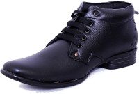 Black Tiger Men's Synthetic Leather Formal Shoes 083-Black-8 Casuals