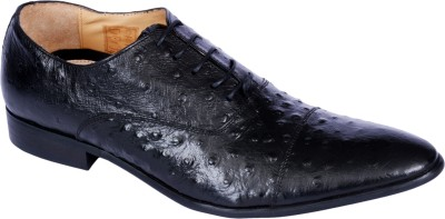 Pinellii Alphard Lace up Black (Italian Hand Crafted) Lace Up shoes