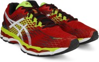 Asics Running Shoes Black, Green, Red, White