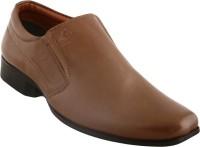 Cizmar Cizmar Formals - Slip-on Shoes In Tan Leather Slip On Shoes Tan