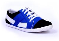 Sam Stefy Blue Black White A33 Canvas Shoes