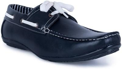U.S. Polo Assn. Women's Agnes Black Boat Shoe