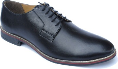 PFC Croco Lace Up Shoes