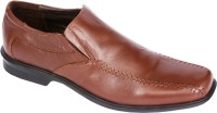 Pinellii Batten Slip On Brown (Italian Hand Crafted) Slip On Shoes