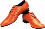 Allen Mark Formal Shoes for Men (Tan)