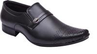 Elixir Man Royal Bronze Slip On Shoes Black
