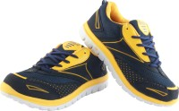 Zapatoz A-star By Zapatoz Navy Blue Running Shoes