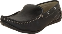 Zovi Black Slip-on Loafers