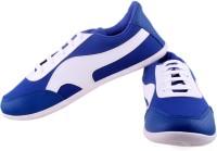 Shoe Striker White&Blue Designer Canvas Shoes