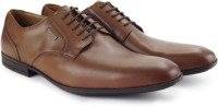 Clarks Derry Lace GTX Walnut Leather Lace Up - SHOEH9FZ5FGYSU66