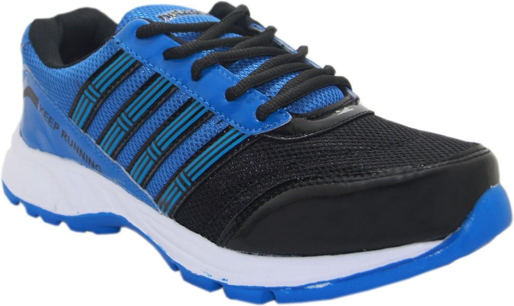 Stepin Soles Galaxy 3 BlueBlack Running Shoes