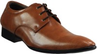 Dziner Lace Up Tan