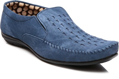 Goalgo Blue Loafers