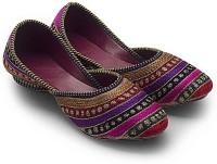 Tradition India Ethnic Rajasthani Designer Embriodered Jutti Mojri Clogs