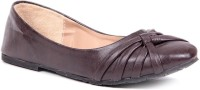 Lovely Chick Lyc Brown Ballerinas Closed Toe Belly