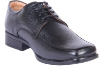 Kennady Officious Black Derby Lace Up