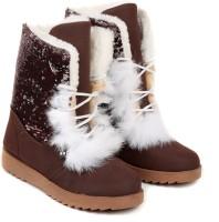 TEN Brown Suede Boot :: Uggs Boots