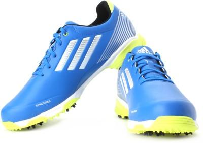 Adidas adizero Sport Golf Shoes - Mens Lead/Silver/Slime at