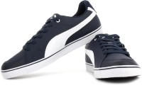 Puma Court Point Vulc Peacoat-white Sneakers