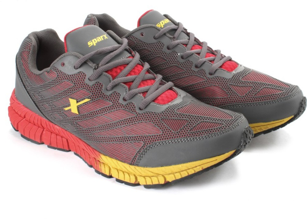 Sparx EDGE QUICK 20 Men Running Shoes Grey Red