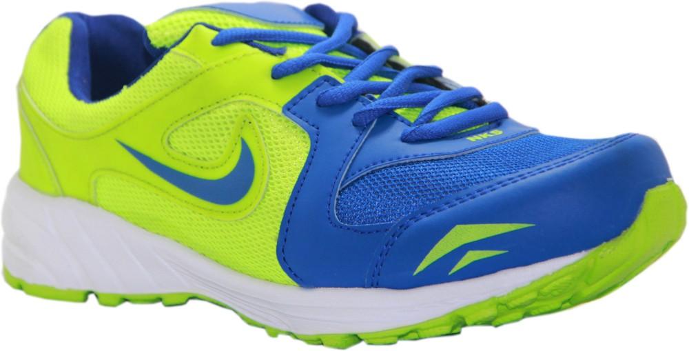 Stepin Soles Galaxy 2 BlueGreen Running Shoes
