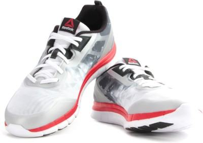 Reebok Spectra Run White And Black Running Shoes