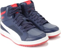 Puma Puma Rebound V2 Hi Jr Casual Shoes - SHOEJ6Y3Z4GGWVWN