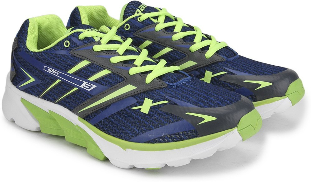 Sparx Men Running Shoes Blue