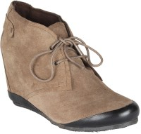 Salt N Pepper 11-617 Cynthia Taupe Boots Casual Shoes