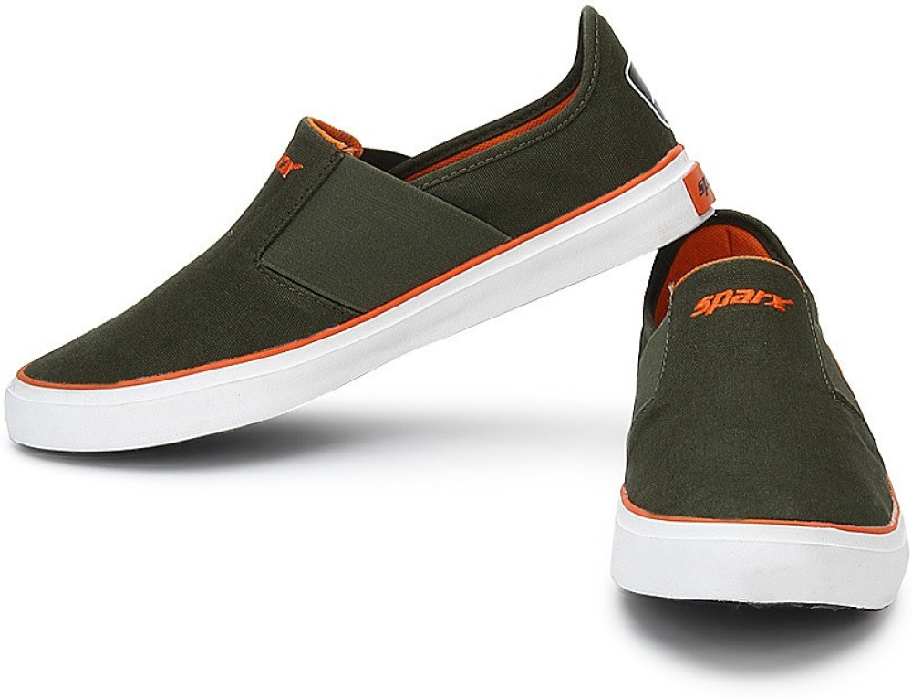 Sparx Casual Shoes Olive, Orange...