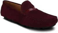 Get Glamr Red Men's Loafers