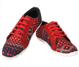 Invezo Impression Canvas Shoes, Casuals, Corporate Casuals, Driving Shoes, Sneakers, Party Wear, Outdoors