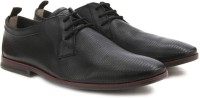 Clarks Frewick Lace Black Leather Lace Up