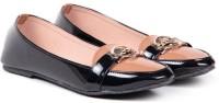 Ten Women Designer Front Brown-Black Flat Loafers